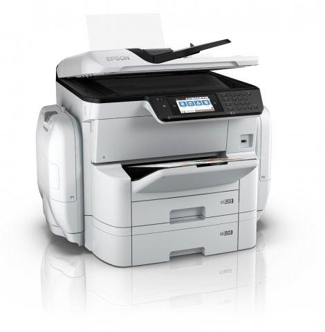 c971975be7 Az A3 méretű, színes, multifunkciós nyomtató (MFP) hozzájárul a vállalatok  hatékonyságának növeléséhez. Az első oldal kinyomtatásának ideje rövid: a  ...