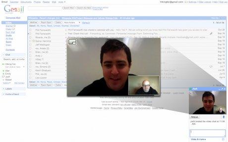 Gmail+videochat